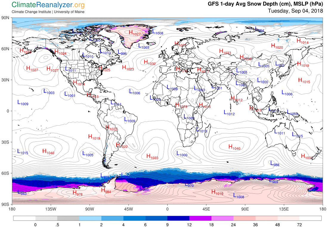 Global Meteo Overview 4 September, 2018 #Earth #weather (Raport meteo Pamant - 4 Septembrie 2018)