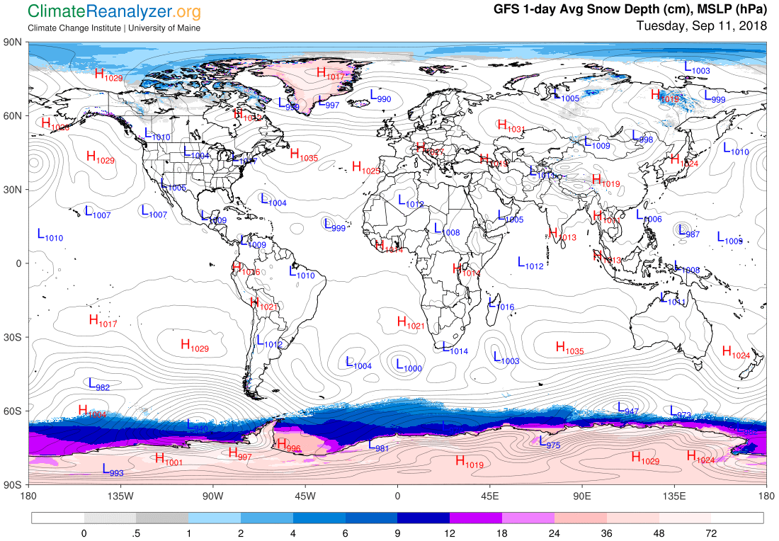 Global Meteo Overview 12 September, 2018 #Earth #weather (Raport meteo Pamant - 12 Septembrie 2018)
