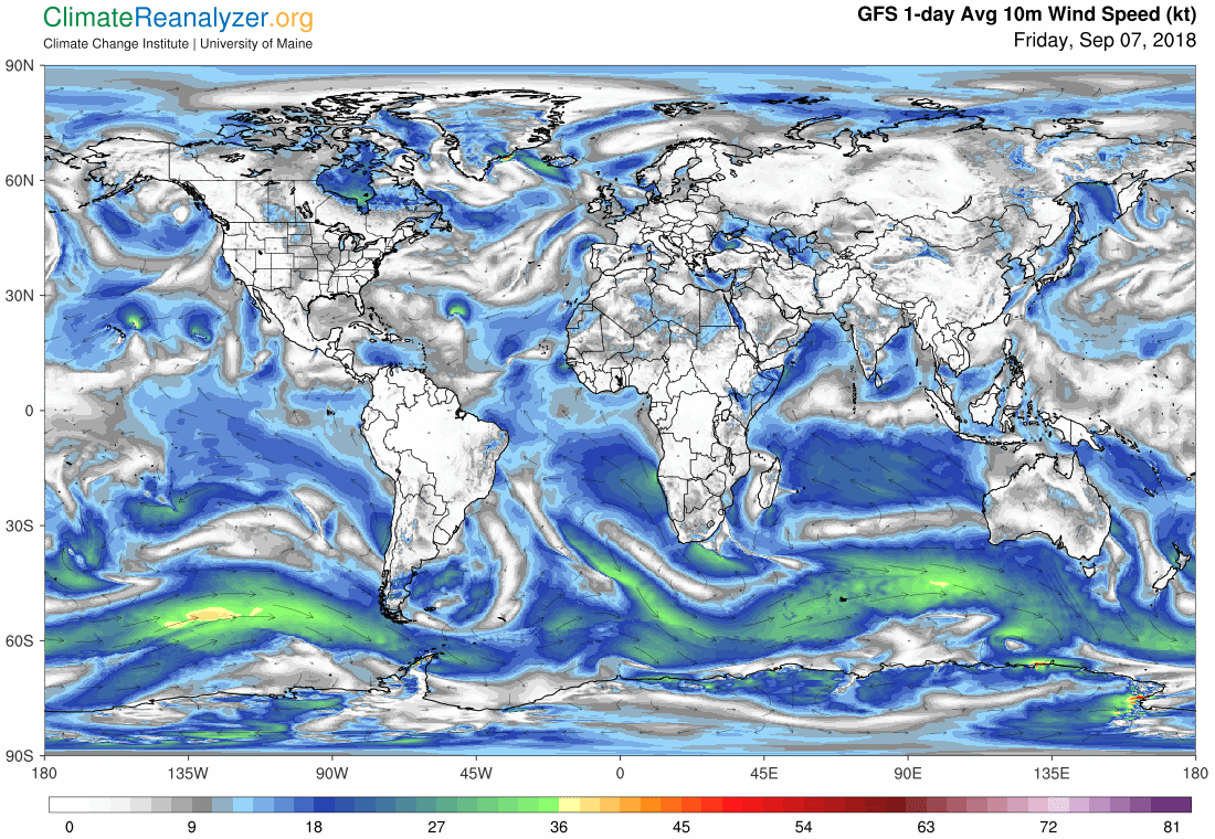 Global Meteo Overview 7 September, 2018 #Earth #weather (Raport meteo Pamant - 7 Septembrie 2018)