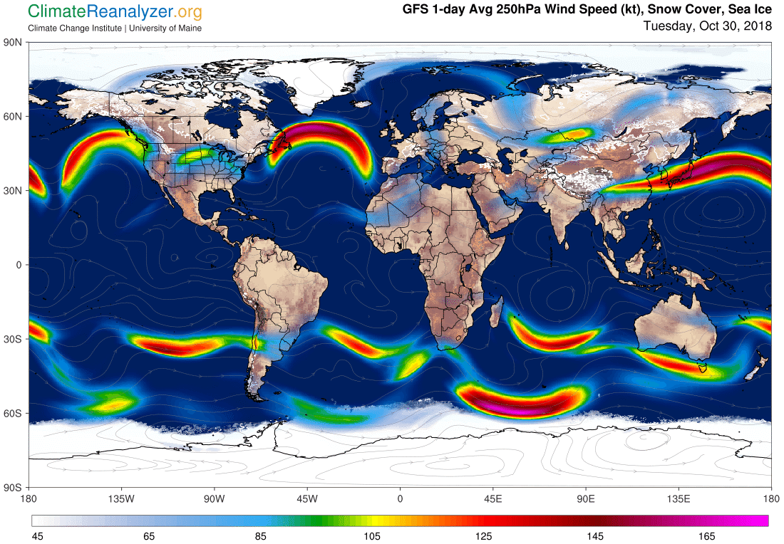 Global Meteo Overview 30 October, 2018 #Earth #weather (Raport meteo Pamant - 30 Octombrie 2018)