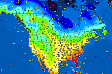 Temperatures North America