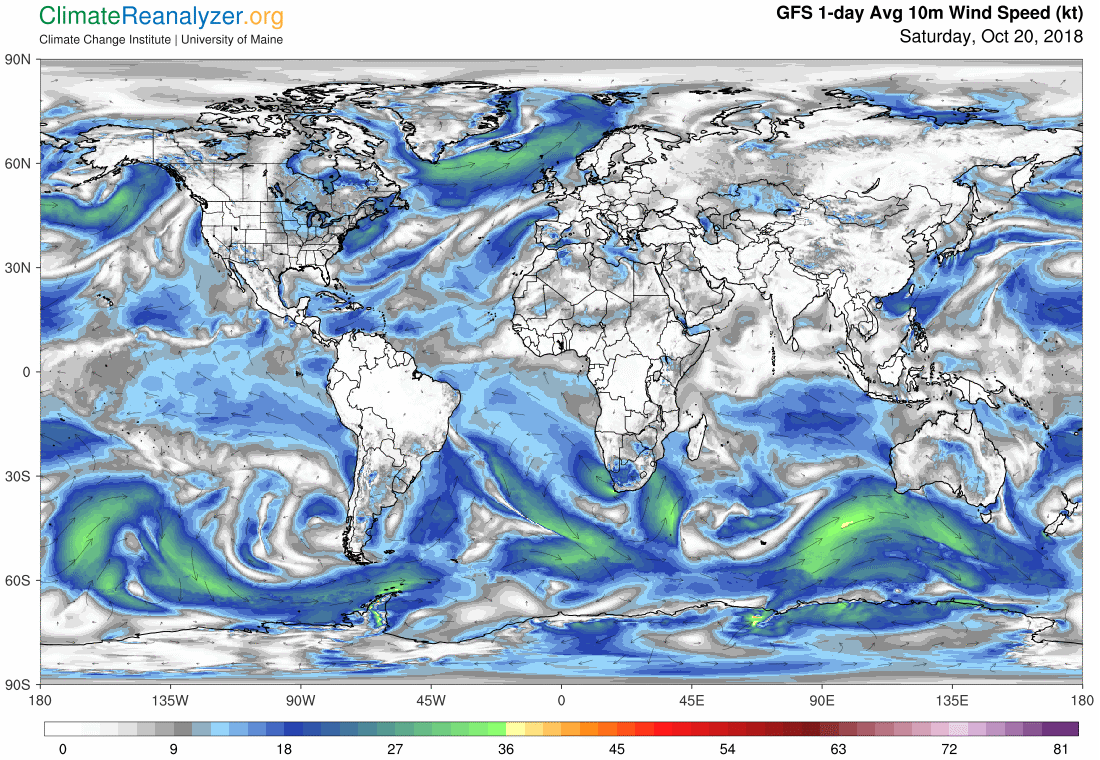 Global Meteo Overview 20 October, 2018 #Earth #weather (Raport meteo Pamant - 20 Octombrie 2018)