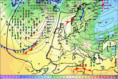 Europe weather forecast