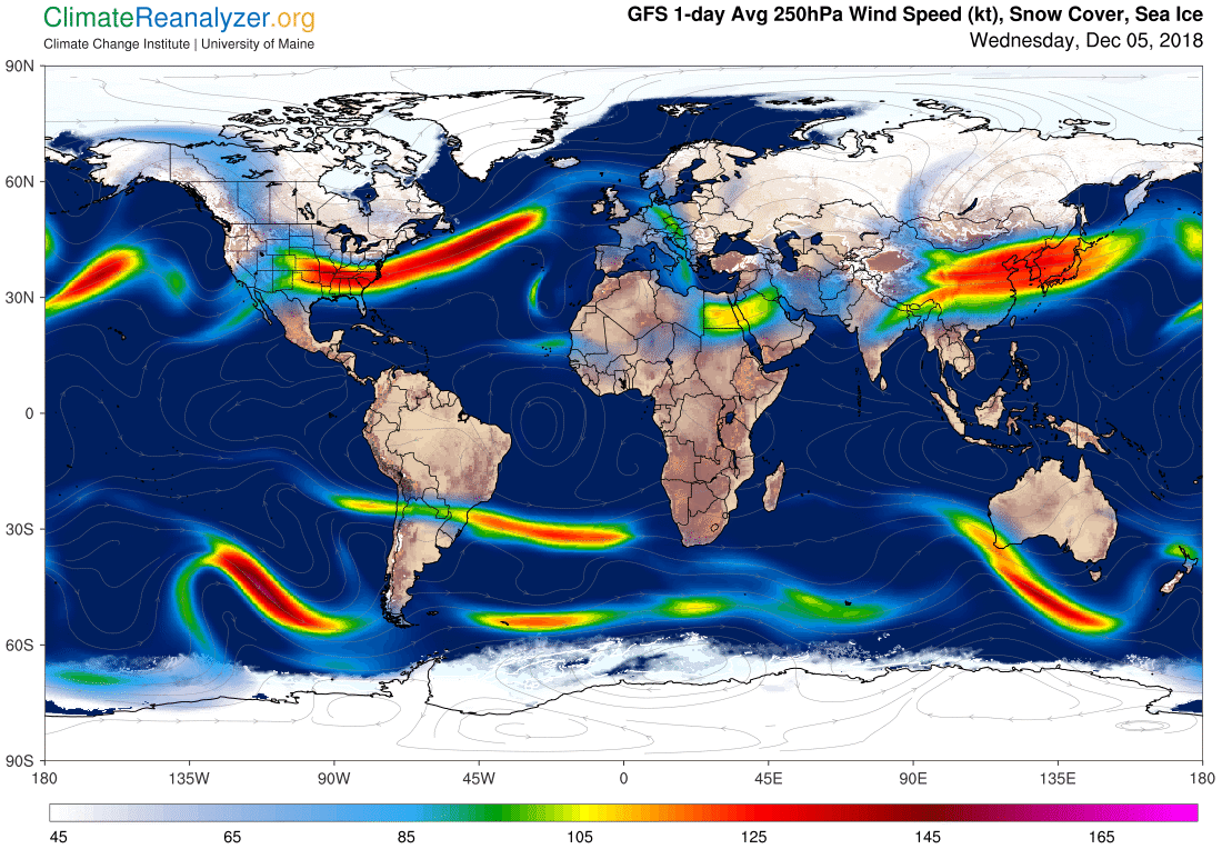 Global Meteo Overview 5 December, 2018 #Earth #weather (Raport meteo Pamant - 5 Decembrie 2018)