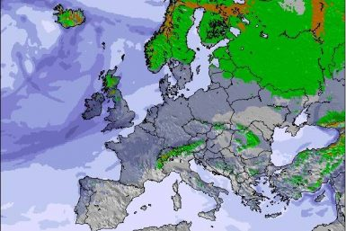 Precipitation maps Europe #weather (Precipitatii Europa in urmatoarele 3 zile)