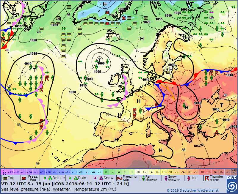 Europe weather forecast 48h #weatherforecast #Europe (Prognoza meteo pentru Europa 48h). Radar #Europe this morning.