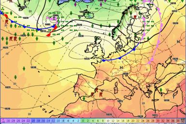 Europe weather forecast 24h Front
