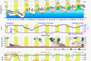 Prognoza vreme Postavarul 7 zile