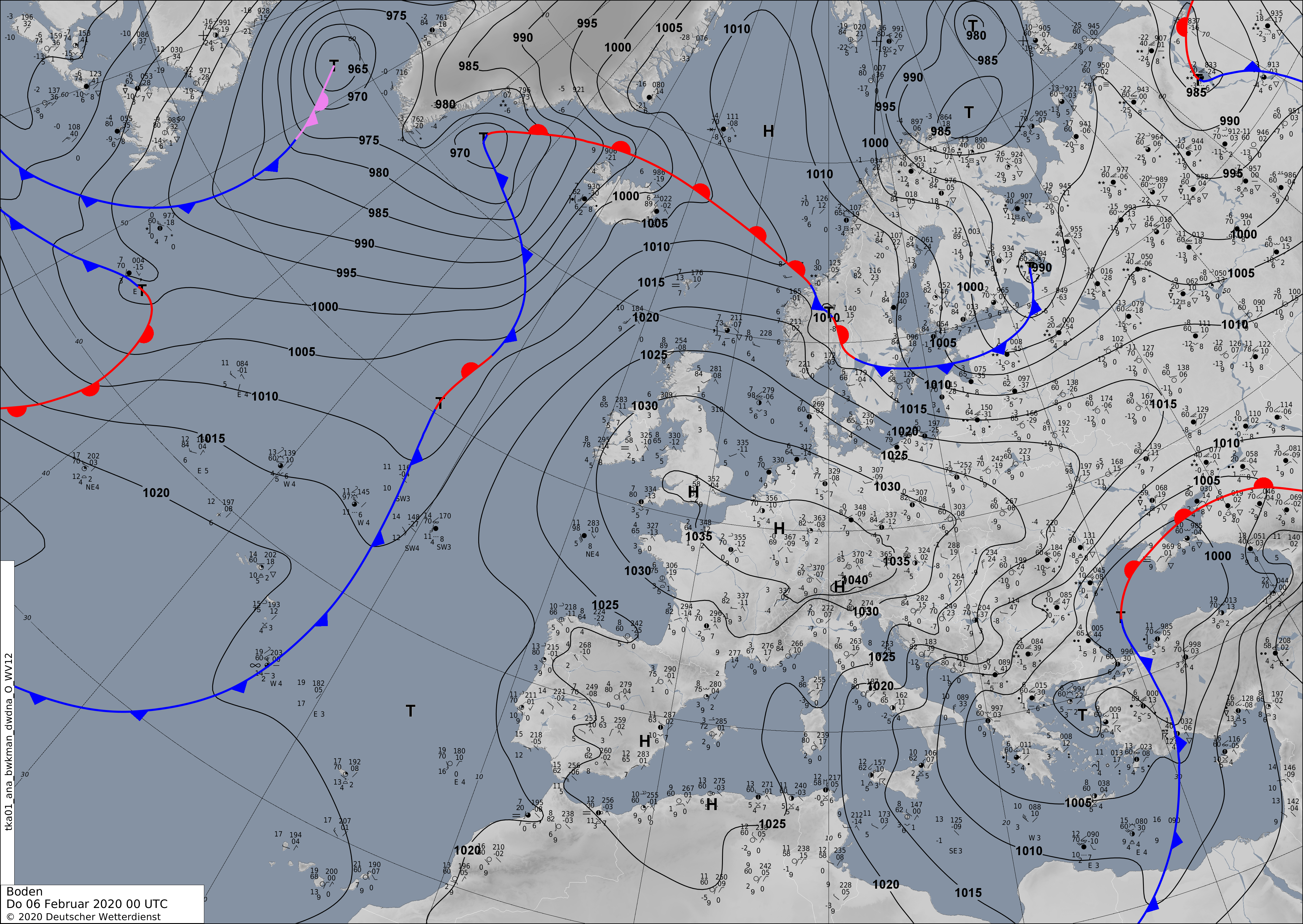 Europe weather forecast 24h #weatherforecast #Europe (Prognoza meteo pentru Europa 24h). Radar #Europe this morning.