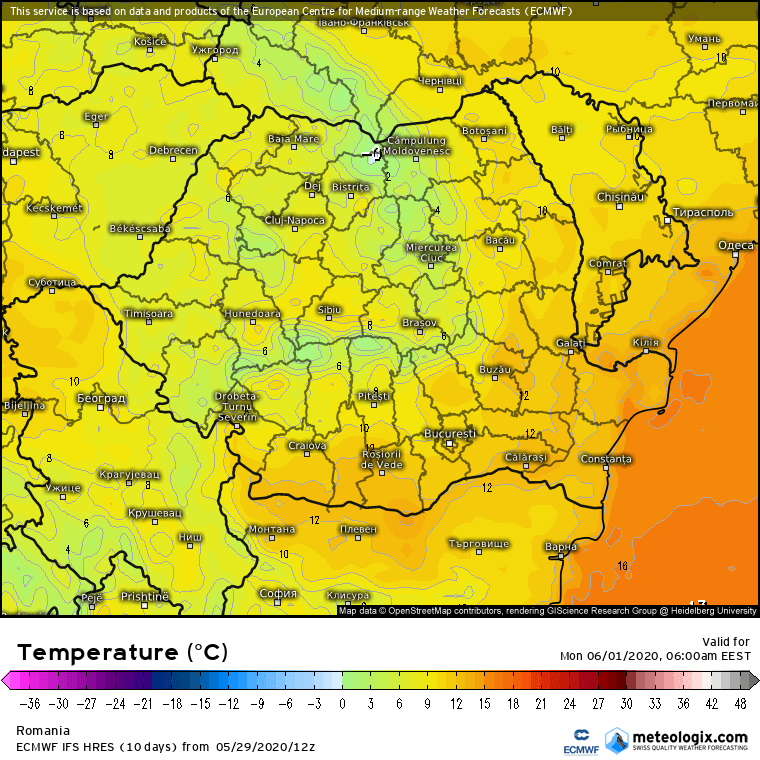 Prognoza meteo Romania  30 - 31 Mai 2020 #Romania (Romania weather forecast for today).