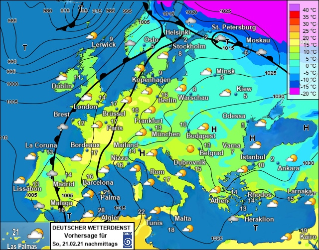 Europe weather forecast 48h #weatherforecast (Prognoza meteo Europa). Radar