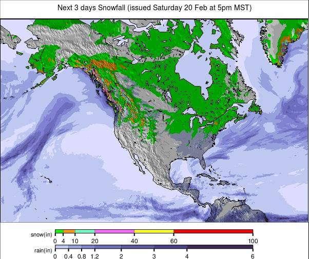 Precipitation maps North America #USA #rainfall (Precipitații în SUA)