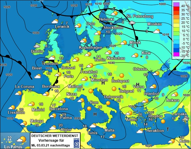 Europe weather forecast #weatherforecast (Vremea în Europa). Rain radar