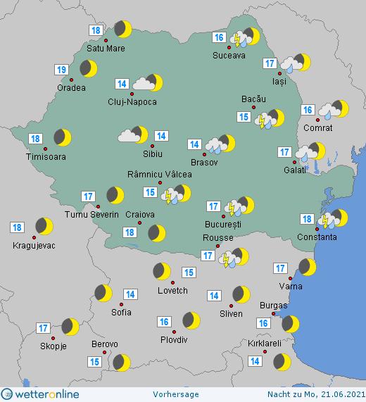 Prognoza meteo Romania 20 - 21 Iunie 2021 #Romania #vremea