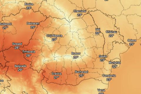 Permalink to: Vremea in Romania