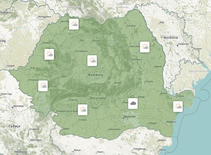 Prognoza meteo Romania 21 Septembrie 2021 (Romania weather forecast)