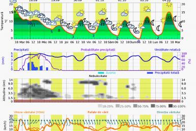 Prognoza vreme Postavarul 14 zile