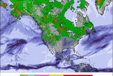 Precipitation maps