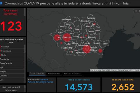 Permalink to: Harta interactivă Coronavirus în România