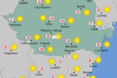 Prognoza meteo Romania Octombrie